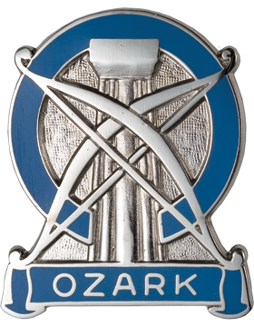 102nd Army Commendation Unit Crest (Ozark)