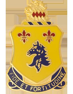 0102 Armor Unit Crest (Fide Et Fortitudine)