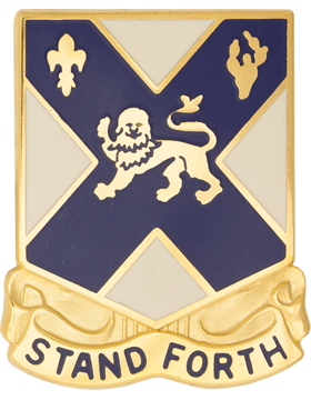102nd Infantry Unit Crest (Stand Forth)