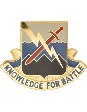 102nd Military Intelligence Battalion Unit Crest (Knowldege For Battle)