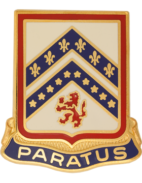 103rd Engineer Battalion Unit Crest (Paratus)