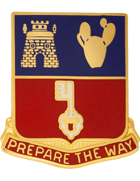 116th Engineer Battalion Unit Crest (Prepare The Way)