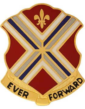 116th Infantry Unit Crest (Ever Forward)