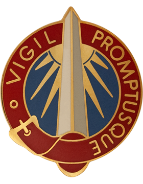 116th Military Intelligence Group Unit Crest (Vigil Promptusque)