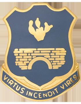 120th Infantry Unit Crest (Virtus Incendit Vires)