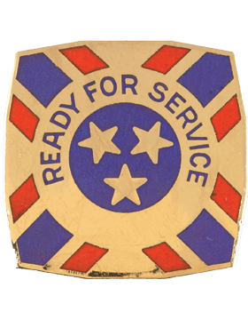 121st Army Reserve Command Unit Crest (Ready For Service)