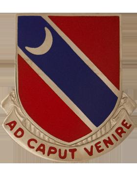 122nd Engineer Battalion Unit Crest (Ad Caput Venire)