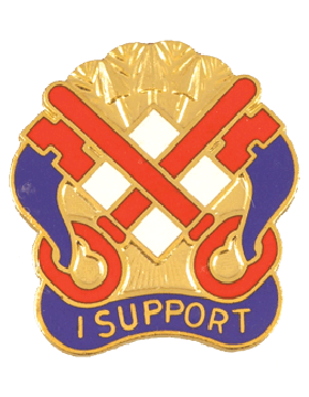 122nd Support Group Unit Crest (I Support) small