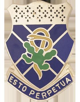 123rd Armor Unit Crest (Esto Perpetua)