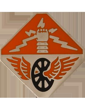 124th Regiment Unit Crest (Viridimontes Defendemus) small