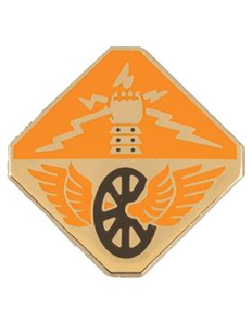124th Signal Battalion Unit Crest (No Motto)