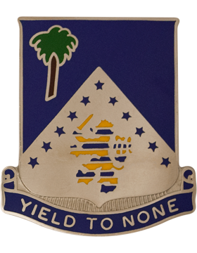 125th Infantry Unit Crest (Yield To None)