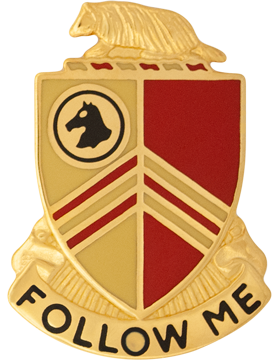 0126 Field Artillery Unit Crest (Follow Me)