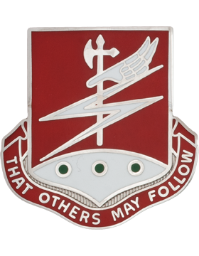 0127 Engineer Bn Unit Crest (That Others May Follow)