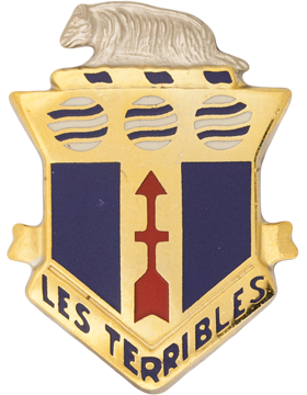 0127 Infantry Unit Crest (Les Terribles)