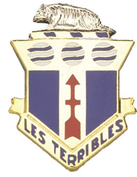 0128 Infantry Unit Crest (Les Terribles)