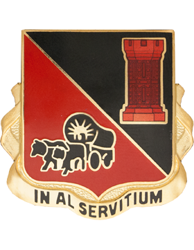 0128 Engineer Battalion (IN AL SERVITIUM)