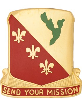 0129 Field Artillery Unit Crest (Send Your Mission)