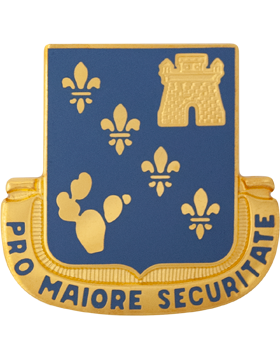0129 Regiment Unit Crest (Pro Maiore Securitate)