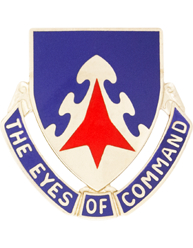 0130 Aviation Unit Crest (The Eyes Of Command)