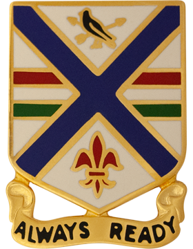 0130 Infantry Unit Crest (Always Ready)