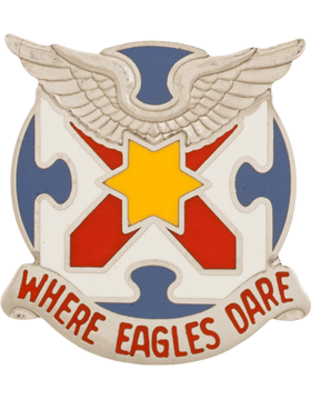 0131 Aviation Battalion Unit Crest (Where Eagles Dare)