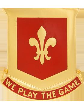 131st Regiment Unit Crest (We Play The Game)