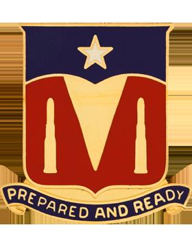 131st Signal Battalion Unit Crest (Prepared And Ready)