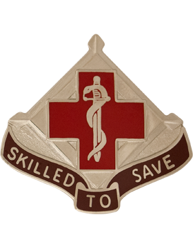 131st Surgical Hospital (Mash) Unit Crest (Skilled To Save)
