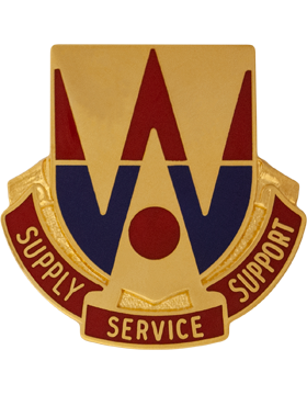 132nd Support Battalion Unit Crest (Supply Service Support)