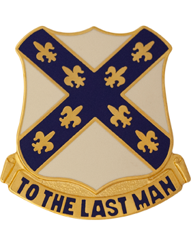 133rd Engineer Battalion Unit Crest (To The Last Man)