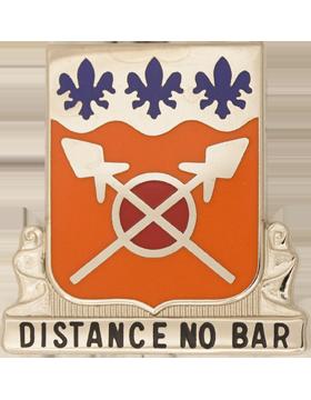 133rd Signal Battalion Unit Crest (Distance No Bar)