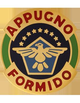 134th Aviation Unit Crest (Appugno Formido)