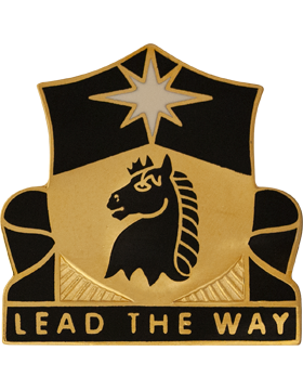 151st Cavalry Unit Crest (Lead The Way)