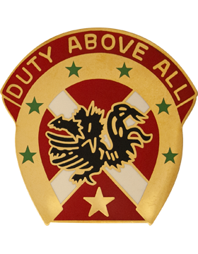 0151 Field Artillery Brigade Unit Crest (Duty Above All)