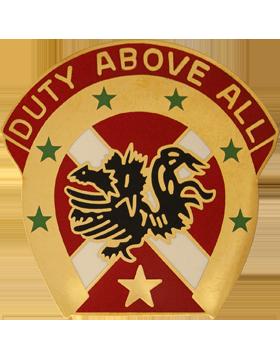 151st Field Artillery Brigade Unit Crest (Duty Above All)