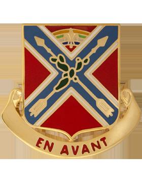 151st Field Artillery Battalion Unit Crest (En Avant)