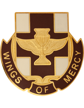 151st Medical Battalion Unit Crest (Wings Of Mercy)