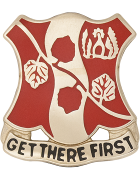 151st Chemical Alabama Army National Guard Unit Crest (Get There First)
