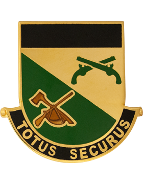0151 Military Police Battalion Unit Crest (Totus Securus)