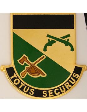 151st Military Police Battalion Unit Crest (Totus Securus)