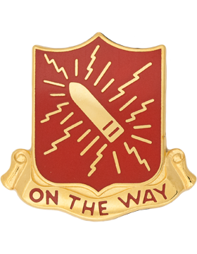 152nd Field Artillery Unit Crest (On The Way)