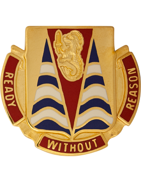 152nd Chemical Battalion Unit Crest (Ready Without Reason)
