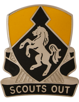 0153 Cavalry Regiment Unit Crest (Scouts Out)