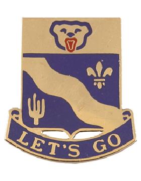 153rd Infanty Unit Crest (Lets Go)