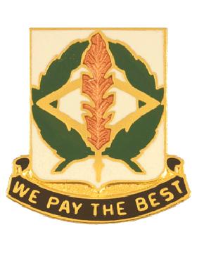 153rd Finance Battalion Unit Crest (We Pay The Best)