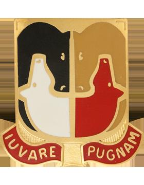 153rd Support Battalion Unit Crest (Iuvare Pugnam)