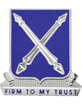 154th Regiment Unit Crest (Firm To My Trust)