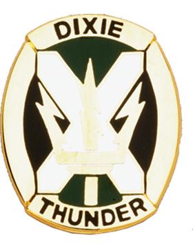 155th Armor Brigade Unit Crest (Dixie Thunder)
