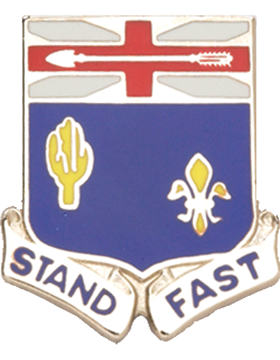 0155 Infantry Unit Crest (Stand Fast)